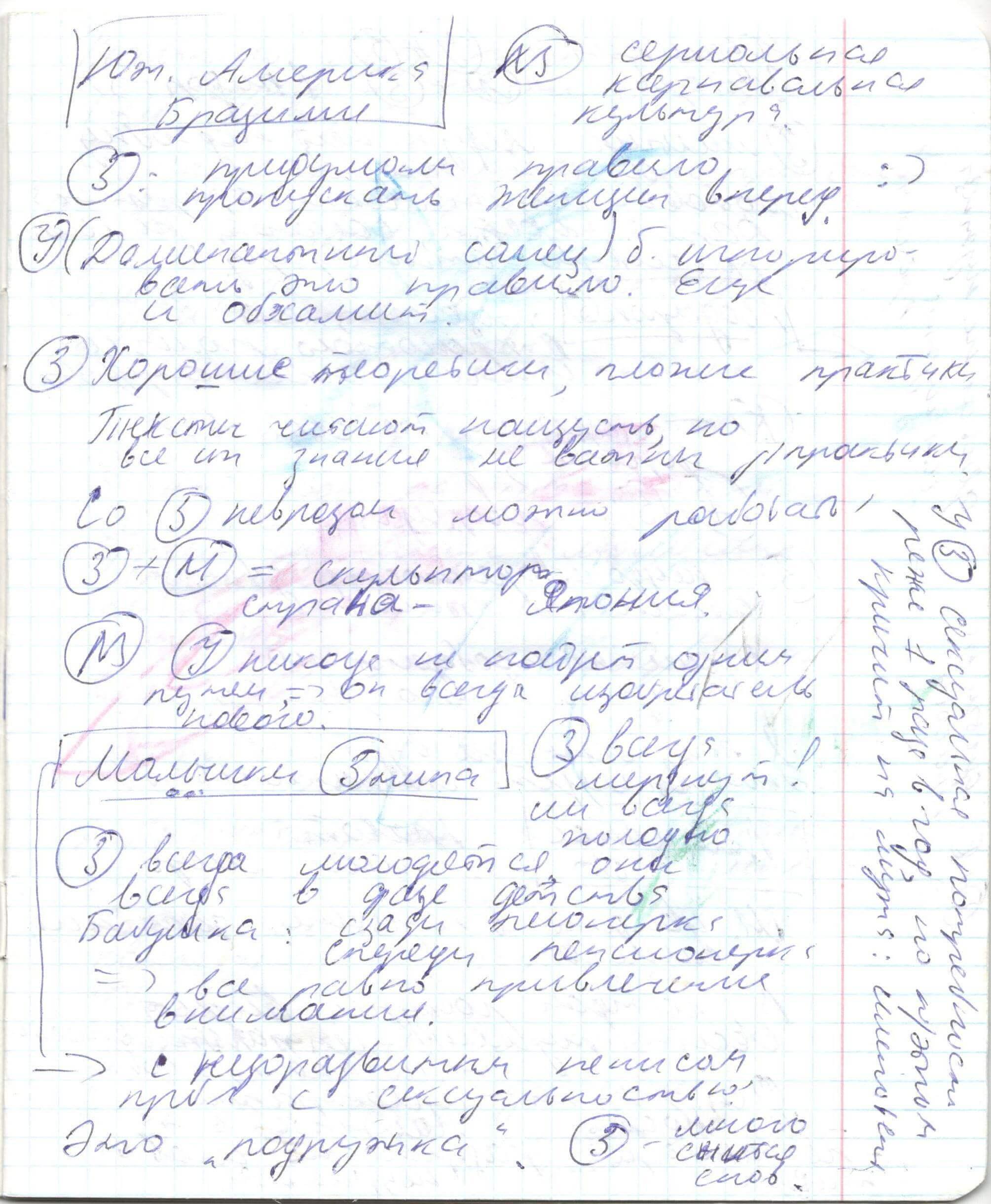 Конспекты ВиктОра Толкачева: Зрительный вектор